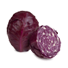 1 cup sliced red cabbage