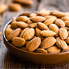 ½ cup sliced almonds