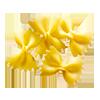 1/2 cup bowtie pasta