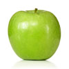1 Manzana verde, pelada y en cubitos pequeños